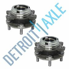 Pair (2) Front Left & Right Wheel Hub & Bearing Assembly AWD w/ ABS for Infiniti