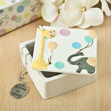 24 Giraffe Elephant Poly Resin Trinket Box Birthday Party Baby Shower Favors