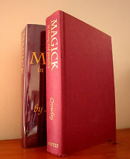 MAGICK IN THEORY AND PRACTICE by ALEISTER CROWLEY / OCCULT RARE HARDCOVER OTO