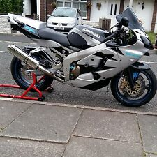 Kawasaki ZX6R 98-02 G-A1P Stainless oval Road Legal/Race MTC Exhaust