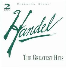 Handel The Greatest Hits  2 CD set Queen Of Sheba Xerxes Passacaglia Messiah OOP