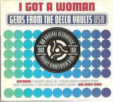 I GOT A WOMAN GEMS FROM THE DECCA VAULTS 1960 - 1961 - 3 CD BOX SET