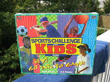 Sports Challenge for Kids Game - University Games 1998~ New & Factory Sealed!