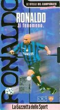 VHS Ronaldo Luís Nazário de Lima Il fenomeno Inter sport calcio no cd lp mc dvd