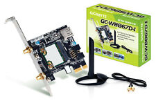 Placa Madre Gigabyte GC-WB867D-I Rev 4.2 PCIe WiFi y Bluetooth 4.2 Tarjeta de red interna de PC