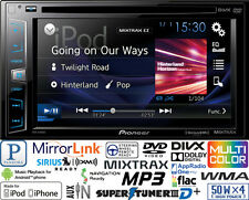PIONEER DOUBLE DIN DVD CD PLAYER CAR RADIO PANDORA ANDROID iPHONE USB AUX