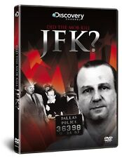 DID THE MOB KILL JFK - DVD - New & Sealed (Conspiracy Theory, Discovery Channel)