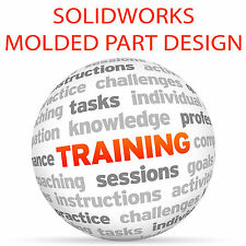 Diseño De Pieza Solidworks Moldeado-Video Tutorial DVD de entrenamiento