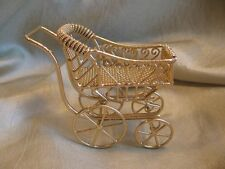 dollhouse doll house miniature BABY CARRIAGE BUGGY