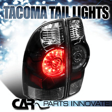 2005-2015 Toyota Tacoma Black Clear Altezza LED Style Tail Brake Lights Rear