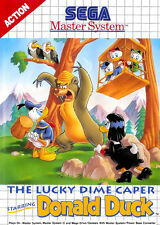 THE LUCKY DIME CAPER STARRING DONALD DUCK    --  SEGA MASTER SYSTEM  // TBE-PN