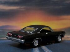 TRIPLE BLACK 1965 65 CHEVY IMPALA SS 1/64 SCALE COLLECTIBLE MODEL - DIORAMA