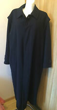 MENS BOGNER WOOL LONG COAT size 52  LARGE