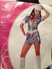 FEELING GROOVY 1960S  DRESS UP HALLOWEEN COSTUME SMALL TO CLEAR 1 ONLY