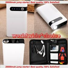 20000mAh Emergency Car Jump Starter Battery Charger Power Bank Booster mini Auto