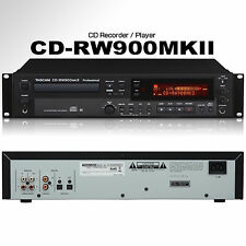 TASCAM CD-RW900MKII Professional Rackmount Recorder / Player with Remote Control