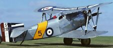 Flycatcher Fairey UK Fighter Airplane Mahogany Kiln Dry Wood Model Small
