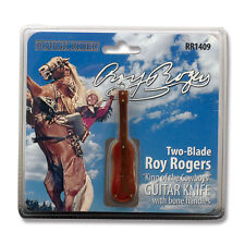 Beautiful Roy Rogers pocket knife King of the Cowboys Guitar Rough Rider™