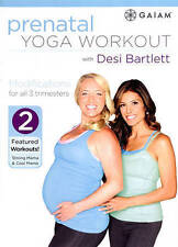 Prenatal Yoga Workout With Desi Bartlett DVD Ships in 24 hours!