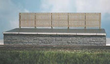 Ratio 437 Modern Wooden Station Fencing 8 x 75mm Brown 00 Gauge Plastic 1st Post