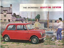 Austin Mini Seven Original UK Sales Brochure No. 1793/B circa 1960
