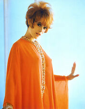 JILL ST. JOHN 1970's orange nightgown pokies 7x10 portrait