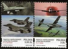 POLAND MNH 2008 Contemporary Aircraft in Poland
