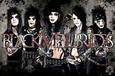 """BLACK VEIL BRIDES POSTER """"LICENSED"""" BRAND NEW """"ANDREW BIERSACK, A PURDY, J PITTS"""