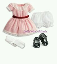 NEW American Girl Samantha's Pink Meet Outfit Dress for Dolls