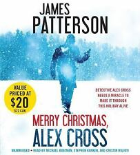 MERRY CHRISTMAS ALEX CROSS unabridged audio book on CD by JAMES PATTERSON