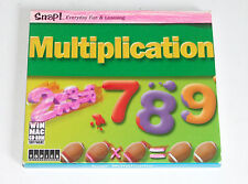 Education Software CD Snap Multiplication CD-ROM Windows Mac