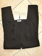 NWT!! WOMENS 100% AUTH BURBERRY LONDON Black Dress Pants Size 6 US/UK 8 $465