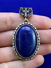 AGATE 925 STERLING SILVER TURKISH HANDMADE JEWELRY PENDANT P1571