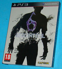 Resident Evil 6 - Steelbook Sony Playstation 3 PS3 - PAL
