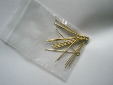 military badge cotter pins x10