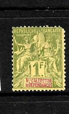 NEW CALEDONIA  1892  1f  TABLET  MH  SG 43