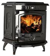 11.5kW 657 Lilyking Black Enamel Multi Fuel Cast Iron Boiler Stove