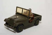 TEKNO DENMARK 814 WILLY'S JEEP US ARMY NEAR MINT CONDITION