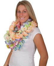 LOT OF 24 HAWAIIAN CARNATION FLOWER LEIS LUAU BEACH PARTY CARNIVALS DECORATION