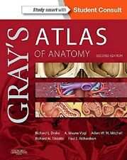 Gray's Atlas of Anatomy : With STUDENT CONSULT Online Access Paperback 2015 2e