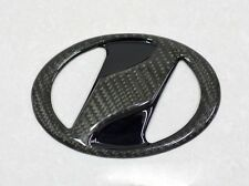REAL CARBON REAR  EMBLEMS COVER FIT FOR TOYOTA YARIS 2014-2015