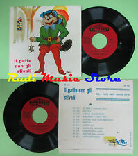 LP 45 7''MORENO MORESI Il gatto con gli stivali italy EMBASSY ZU105 no cd mc dvd