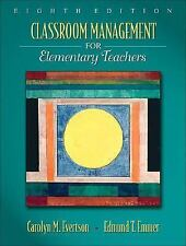 Classroom Management for Elementary Teachers 8th Edition