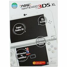 New Nintendo 3DS XL Console - Pearl White - plays all USA games