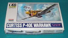 Curtiss P-40E Warhawk Arii 1/48 Still Sealed Inside.