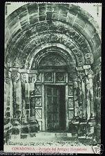936.-COVADONGA -Portada del Antiguo Monasterio de Villanueva
