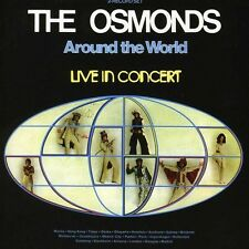 Around The World: Live In Concert - Osmonds (2012, CD NEU)2 DISC SET