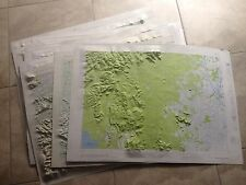 11 1960s Vintage Asia Vietnam Laos China Army Corps War AMS Map Service 1st Ed