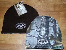 Duck Commander Dynasty Camo / Brown Reversible Beanie Hat BRAND NEW Ships Fast!
