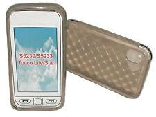 TPU Silicone Cellulare Cover Case Custodia protettiva in Smoke per SAMSUNG GT s5230
